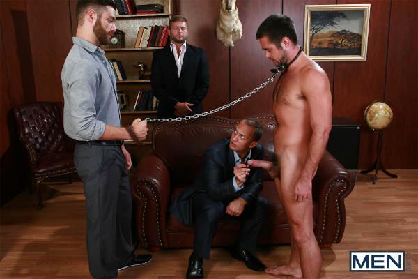 Esclaves sexuels gay nues