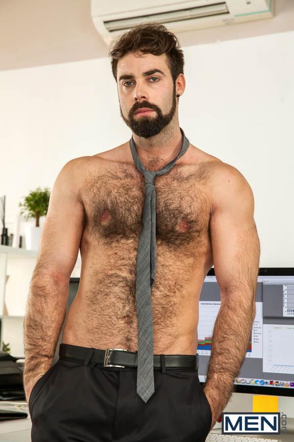 Hommes gais au bureau